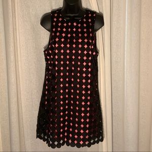 ALICE+OLIVIA DOUBLE LAYER RETRO STYLE DRESS NWOTs